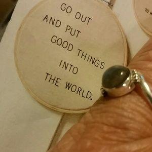 Jewelry - Labradorite 925 sterling ring - 7 1/4